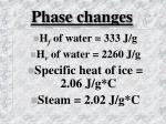 phase changes1