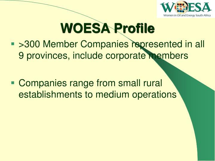 WOESA Profile