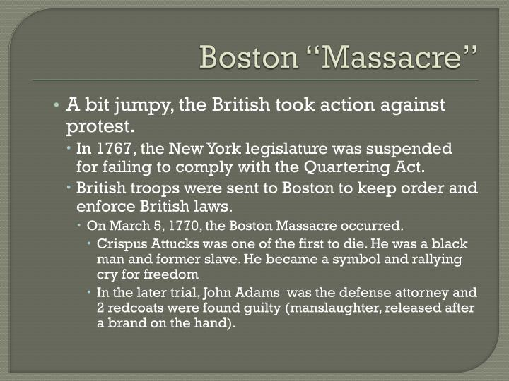 "Boston ""Massacre"""