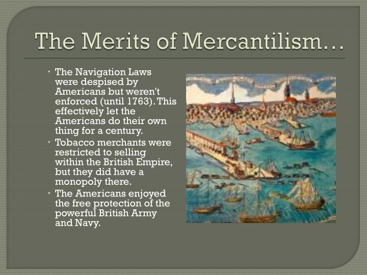 The Merits of Mercantilism…