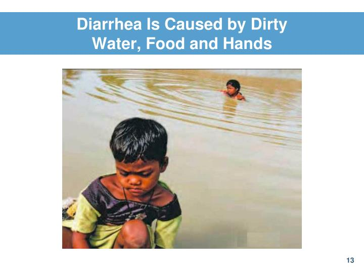Diarrhea Is Caused by Dirty