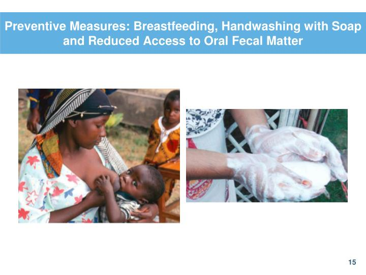 Preventive Measures: Breastfeeding, Handwashing with Soap and Reduced Access to Oral