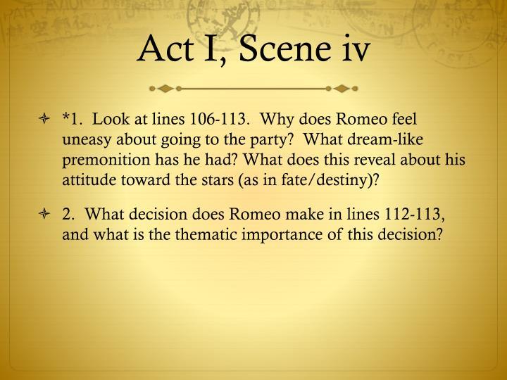 Act I, Scene iv