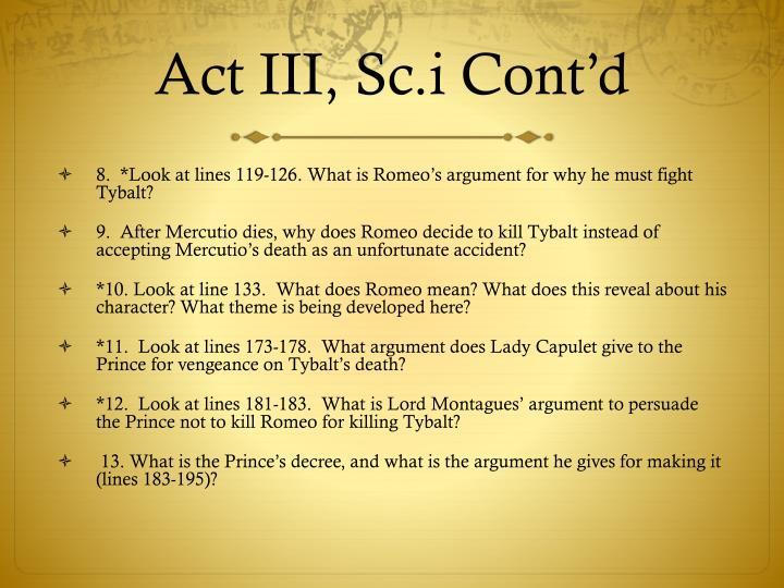 Act III,