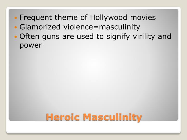 Frequent theme of Hollywood movies