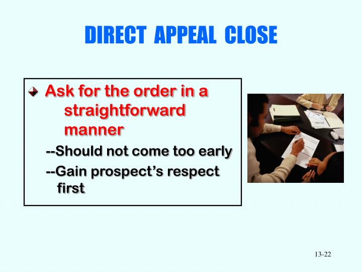 DIRECT  APPEAL  CLOSE