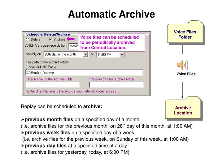 Automatic Archive