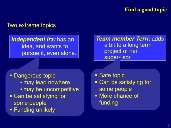 Independent Ira:
