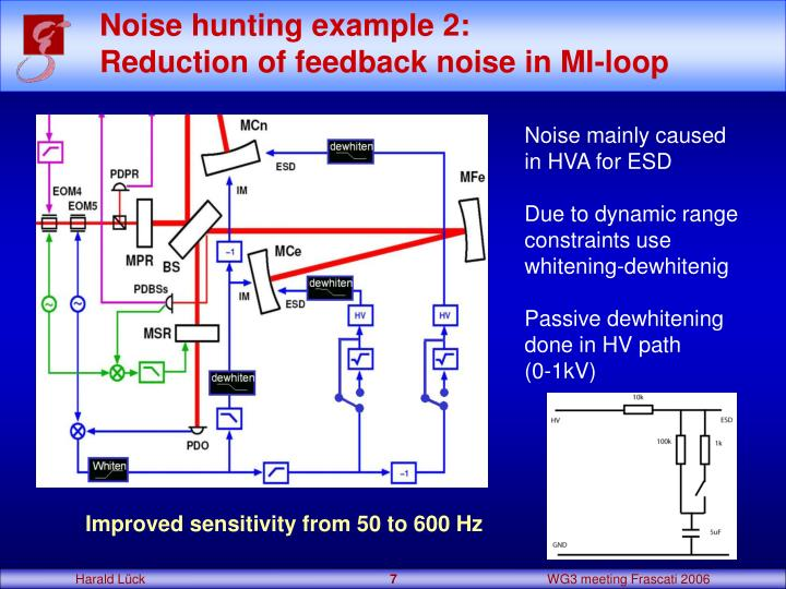 Noise hunting example 2: