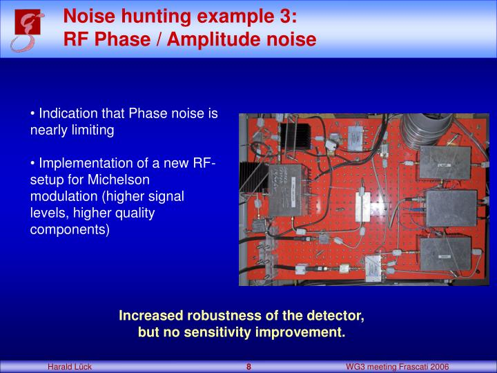 Noise hunting example 3: