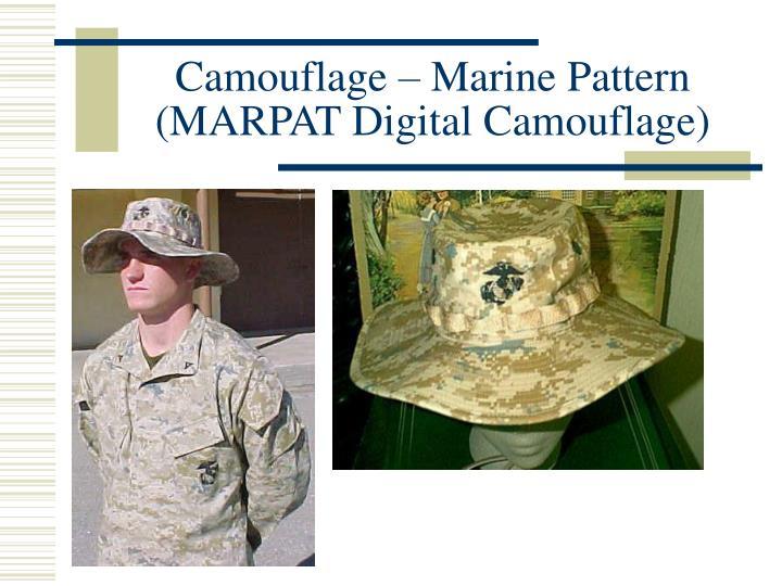 Camouflage – Marine Pattern (MARPAT Digital Camouflage)