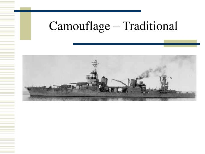 Camouflage – Traditional