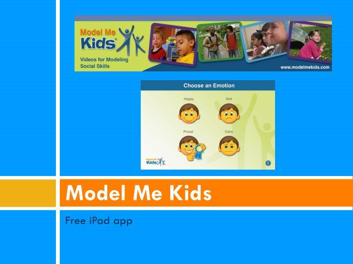 Model Me Kids