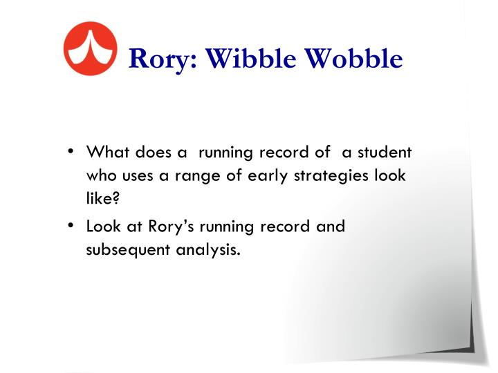 Rory: Wibble Wobble