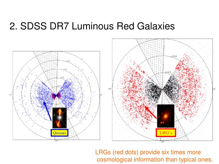 2. SDSS DR7 Luminous Red Galaxies