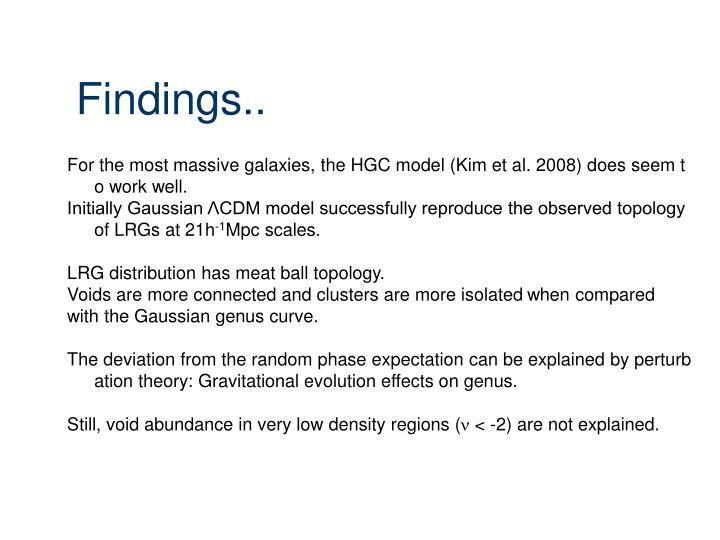 Findings..