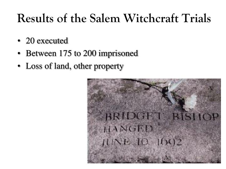 historiography of the salem witch trials Essays, data sets, charts, images, and interactive statistical analysis about salem witchcraft trials of 1692.