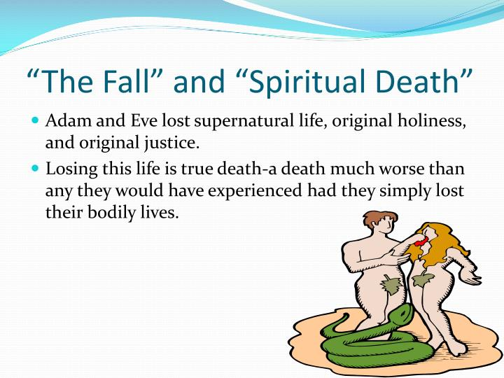"""The Fall"" and ""Spiritual Death"""