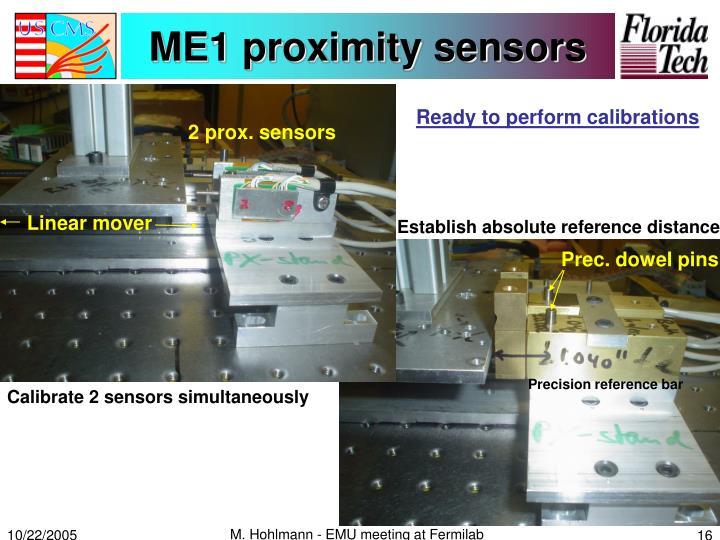 ME1 proximity sensors