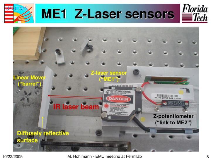 ME1  Z-Laser sensors
