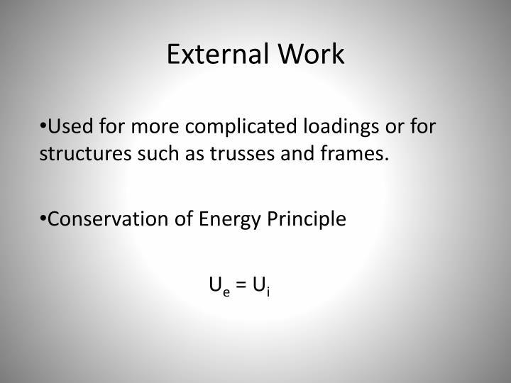 External Work