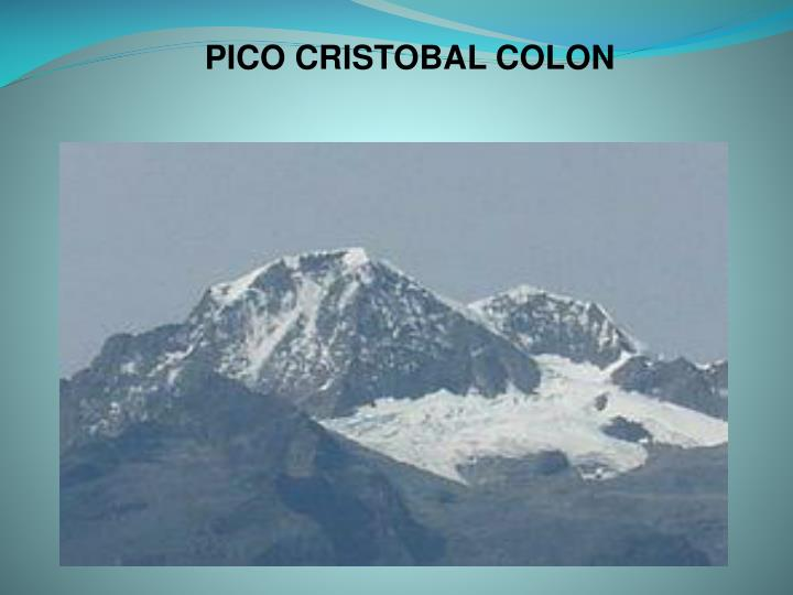 PICO CRISTOBAL COLON