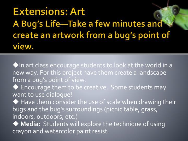 Extensions: Art