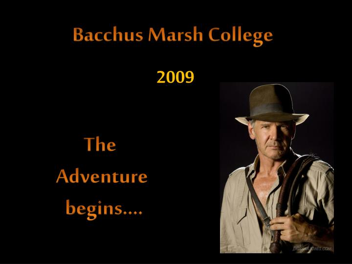 Bacchus Marsh College