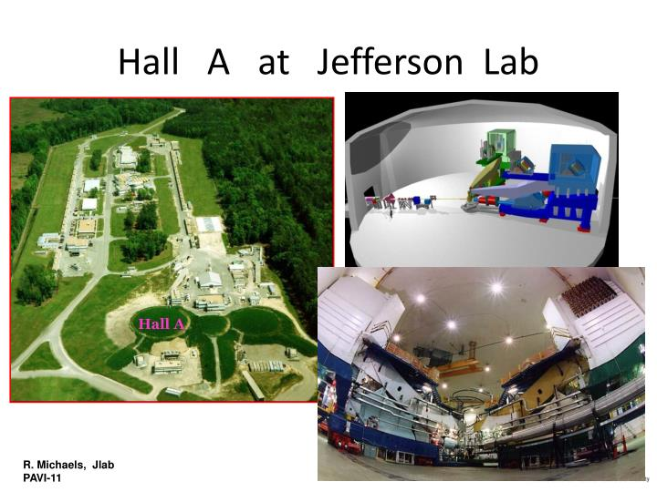 Hall a at jefferson lab