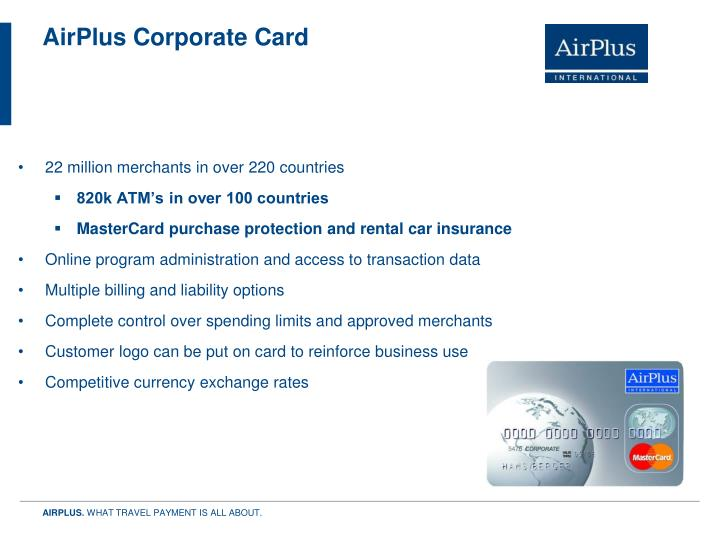 AirPlus Corporate Card