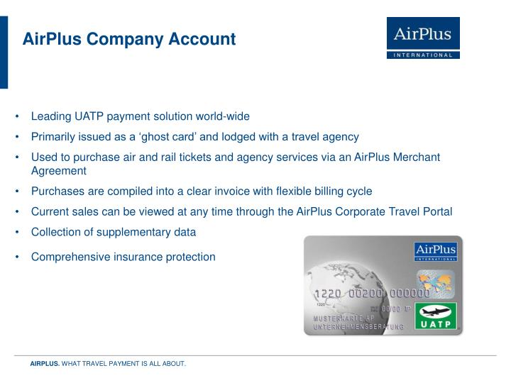 AirPlus Company