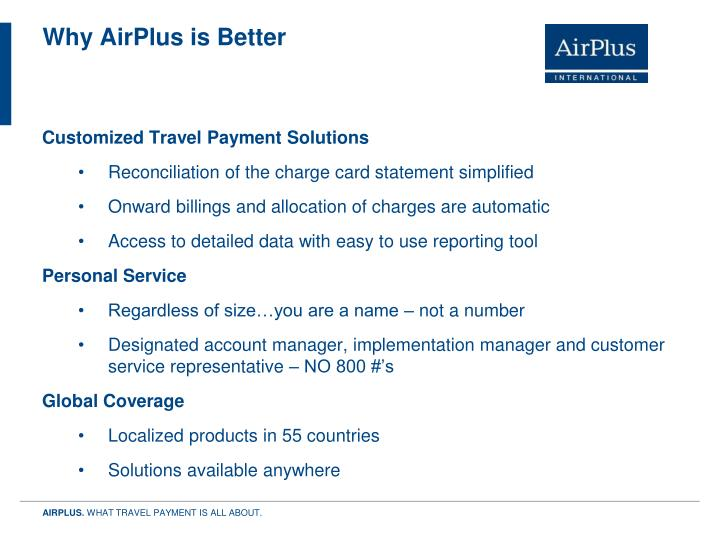 Why AirPlus is Better
