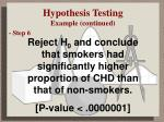 hypothesis testing example continued3