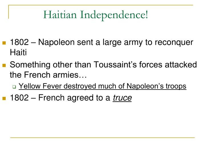 Haitian Independence!