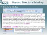 beyond structural markup5