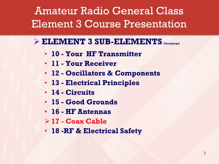 Amateur Radio General Class