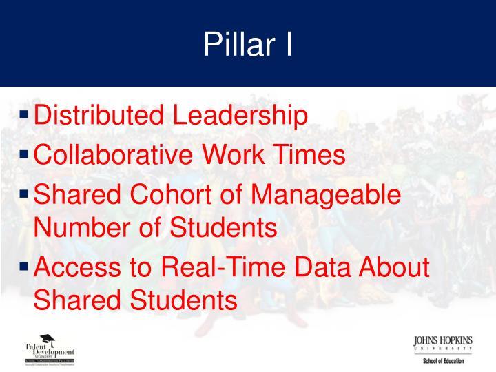 Pillar I