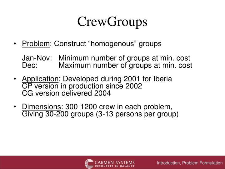 CrewGroups