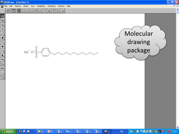 Molecular drawing package