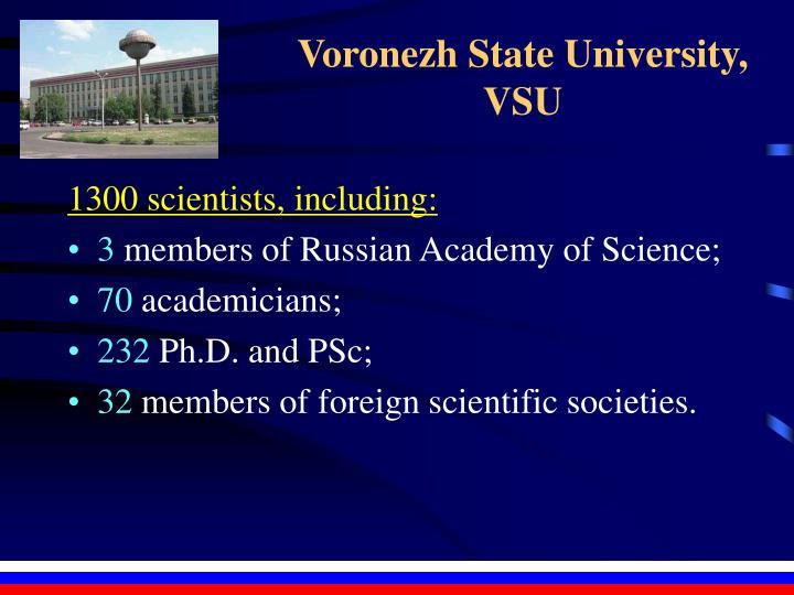 Voronezh State University,