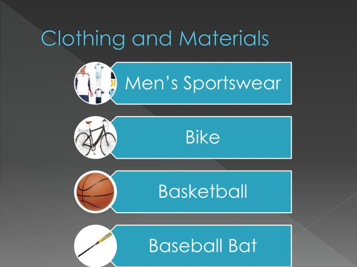 Clothing and Materials