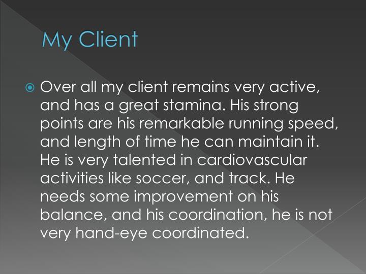 My Client