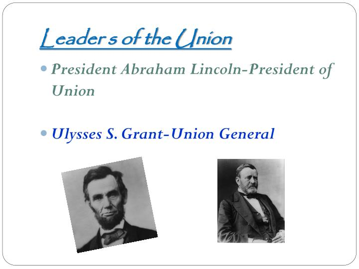 Leader s of the Union