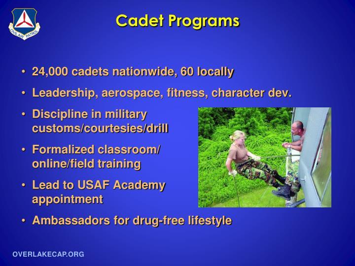 Cadet Programs