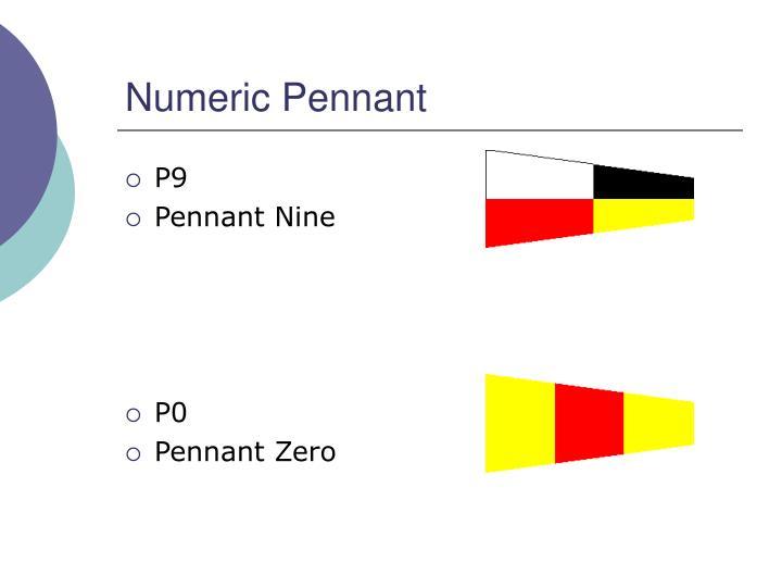 Numeric Pennant