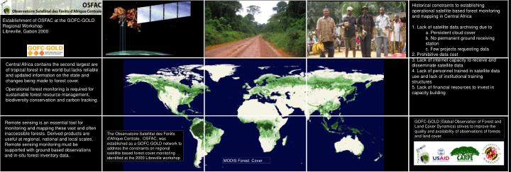 Historical constraints to establishing operational satellite based forest monitoring and mapping in ...
