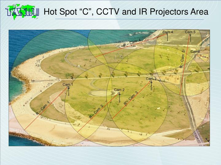 "Hot Spot ""C"", CCTV and IR Projectors Area"