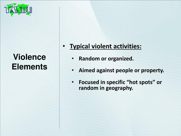 Violence Elements