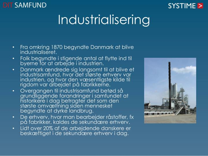 Industrialisering