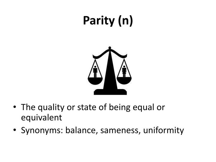 Parity (n)